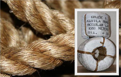 Манильская веревка 097 966-01-66 Манильский канат